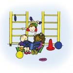 Bewegingsonderwijs in het speellokaal
